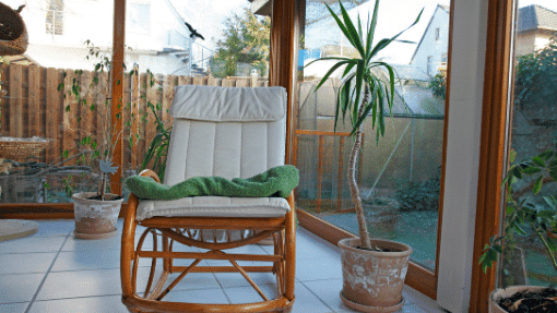 Consider use when buying a conservatory